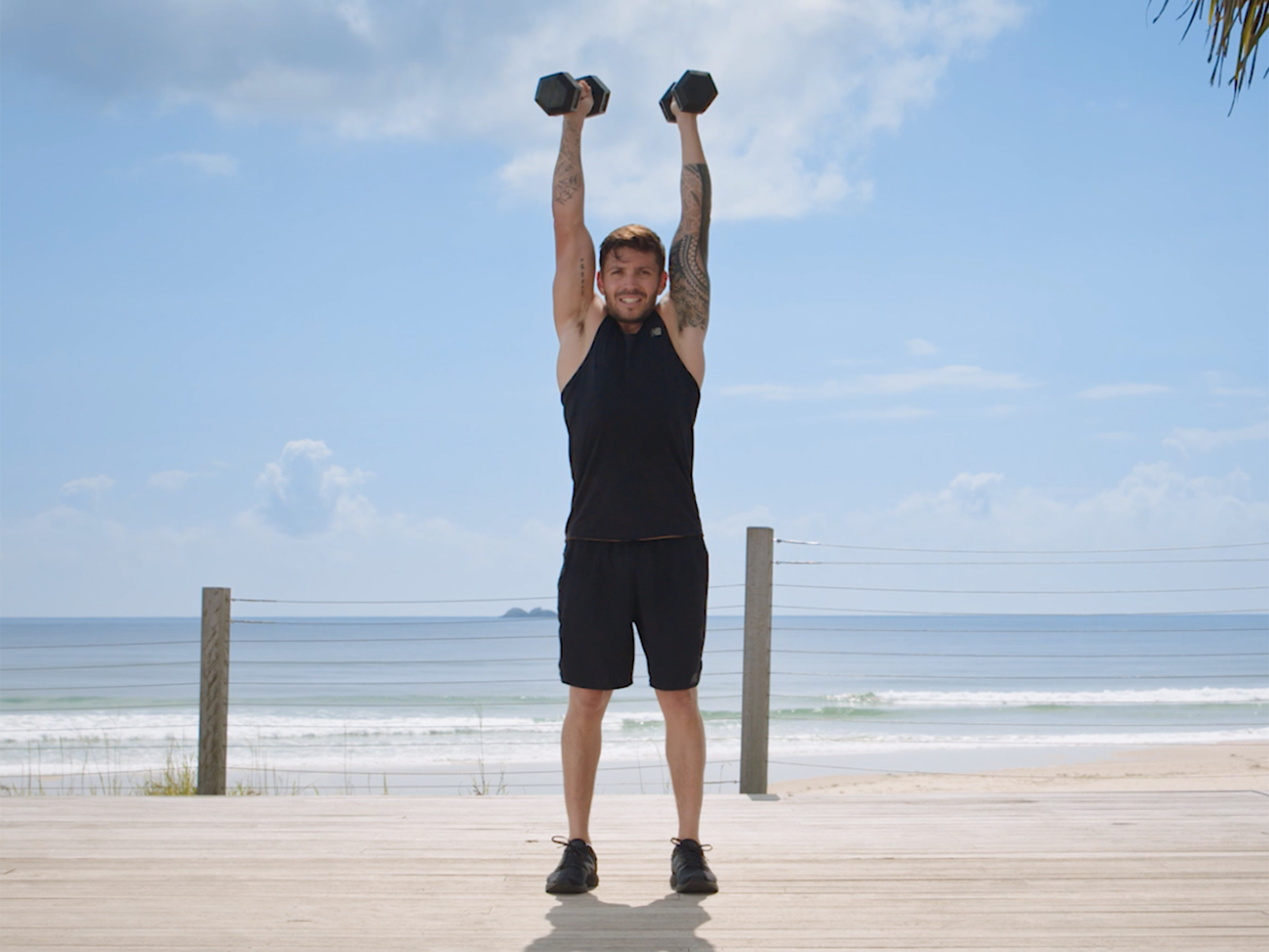dumbell thrusters