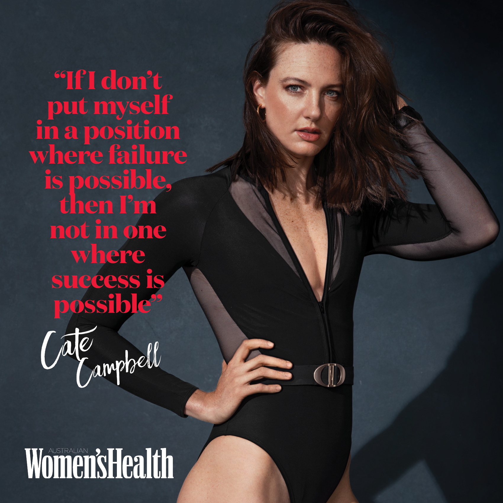 cate campbell women in sport cover