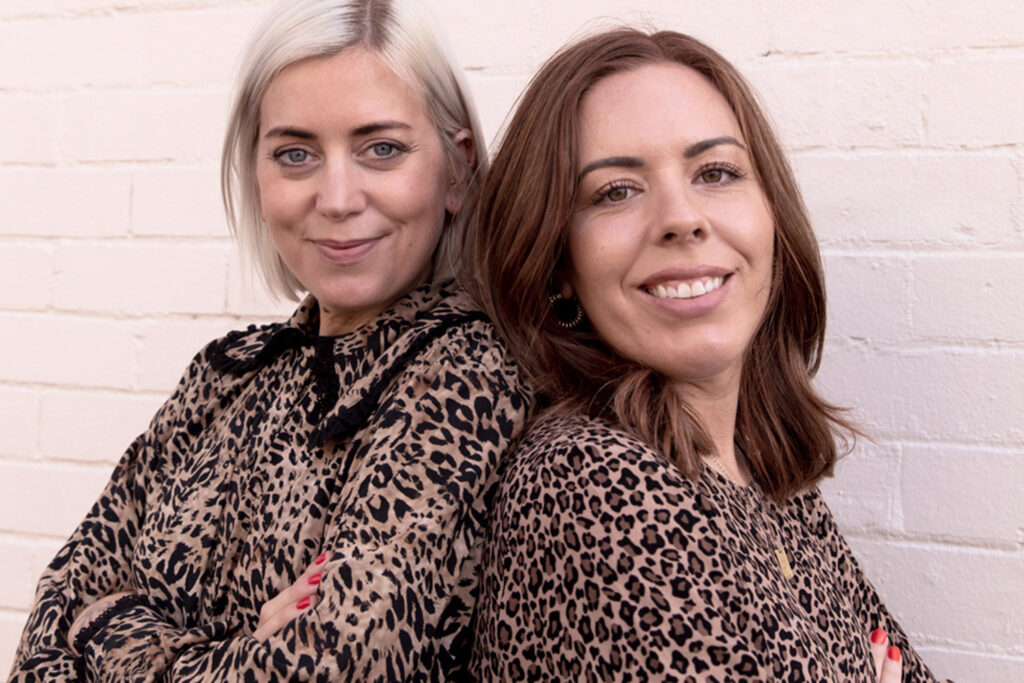 Sally Douglas and Imogen Carn from Good Mourning